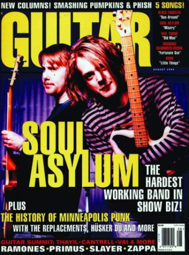 Guitar World Aug. 1995