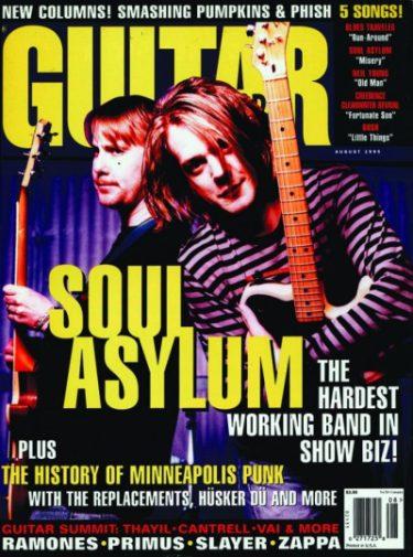 Guitar World Aug. 1995